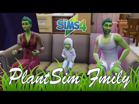 The Sims 4 PlantSim  💚 Au o fetita VERDE 💚