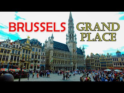 Most Beautiful Square Of Europe - Brussels Grand Place - Belgium