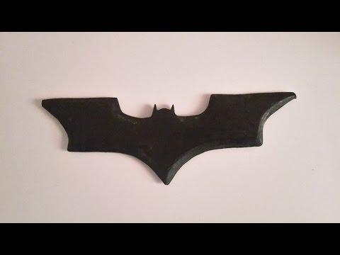 How to make a wooden Batarang! - Free templates