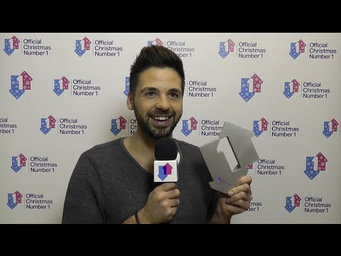 Ben Haenow celebrates being crowned 2014 Official Christmas Number 1 | Official Charts