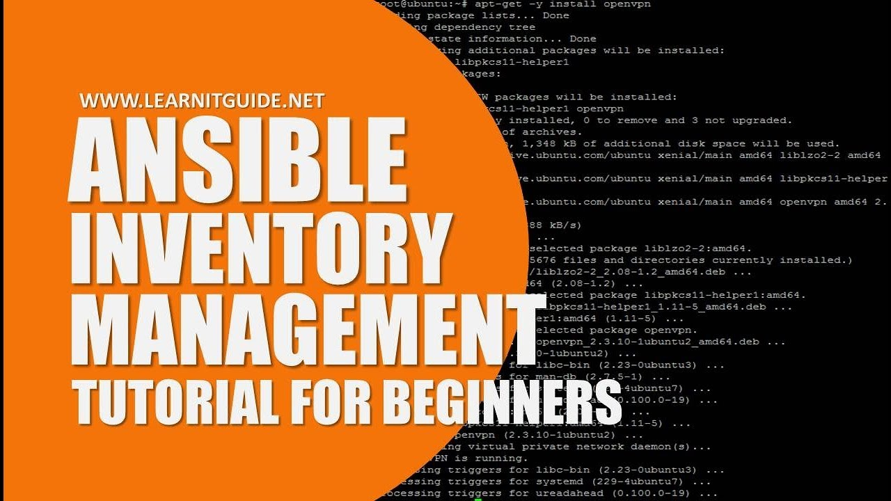Ansible Tutorials - Ansible Inventory Management for Beginners