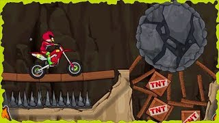 Angry Bird In Moto X3M Bike Race Game Mobile Gameplay 30-45 Levels Walkthrough