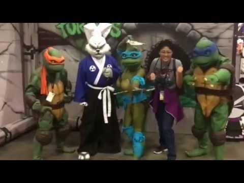 Teenage Mutant Ninja Turtle Group Cosplay Usagi Yojimbo Venus Stan
