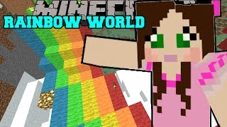 Minecraft: WORLD OF RAINBOWS! - Christmas Trolling - Custom Map [4](No better way to celebrate Christmas than with an epic jump map! Jen's Channel http://youtube.com/gamingwithjen EPIC SHIRTS!, 2016-01-06T01:16:31.000Z)
