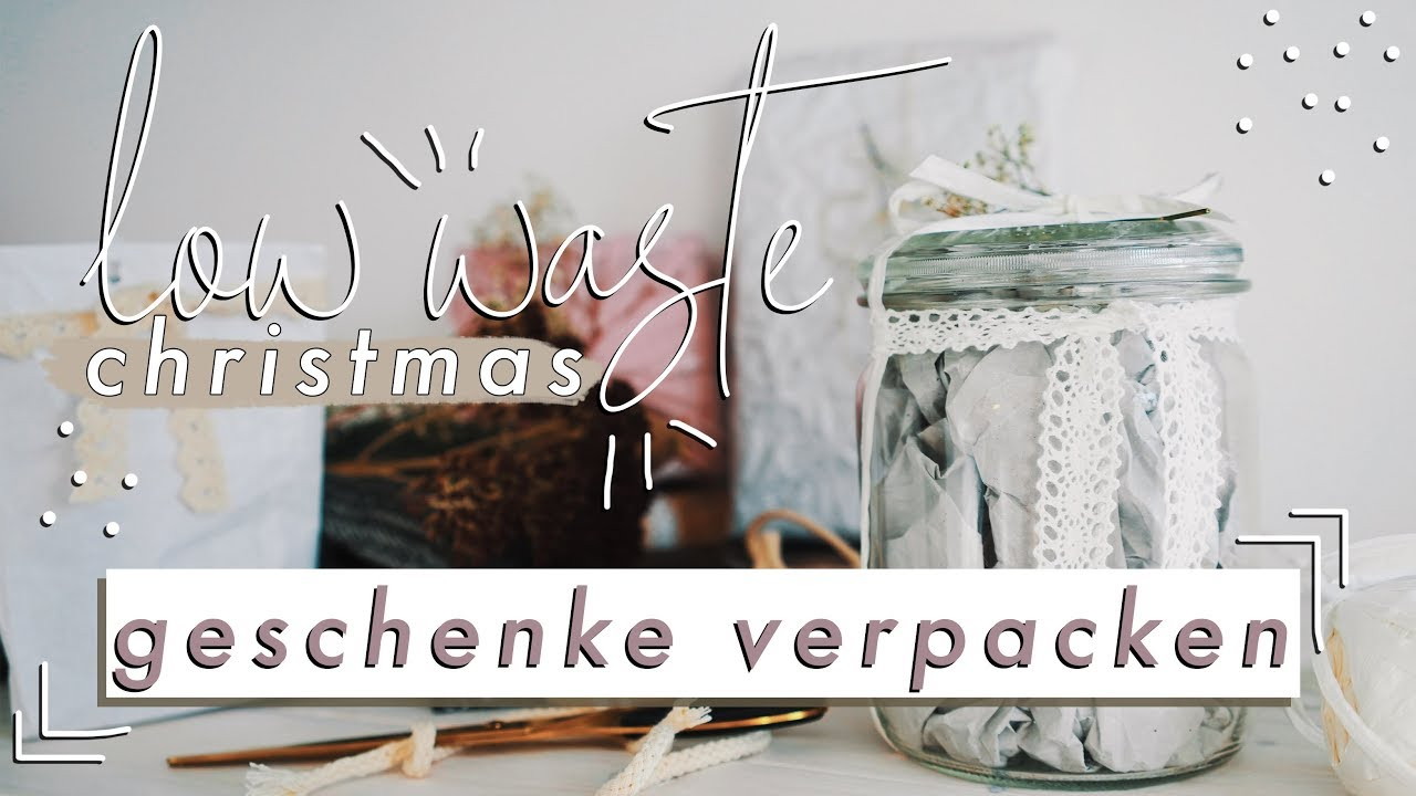 Nachhaltig Geschenke Verpacken Low Waste Christmas Veganes Wachstuch Diy