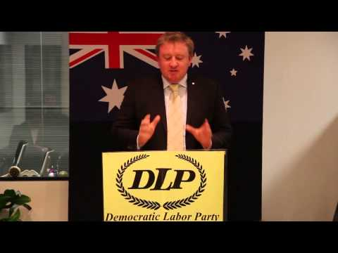 Mark Farrell DLP Senate Candidate for Victoria