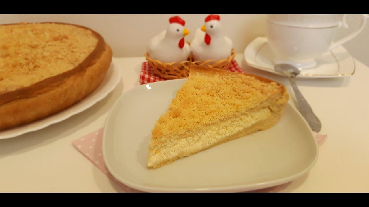 Деревенский Творожный Пирог со Штрейзелем ✧ Pie with Cottage Cheese & Crumb
