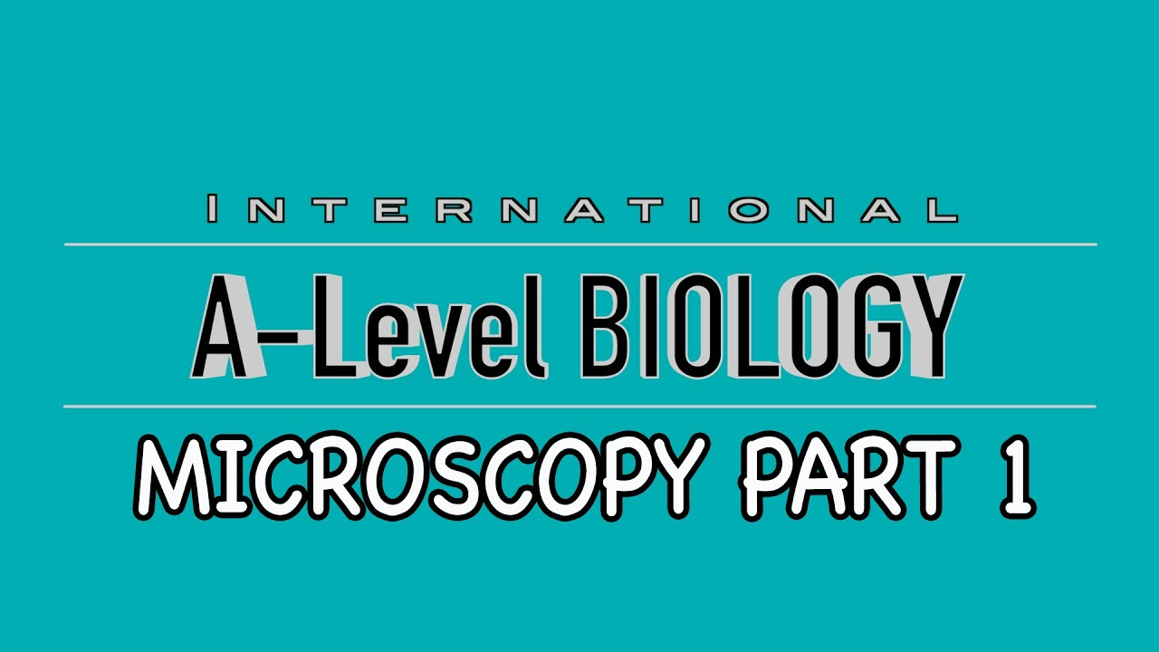 AS Level Biology Units?