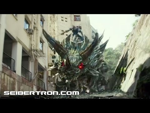 "Transformers Age Of Extinction Trailer ""Dinobots Transformation"" 140614b"
