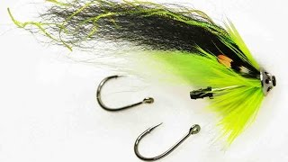 Fly tying: salmon/sea trout tube fly: Chartreuse Soerensen