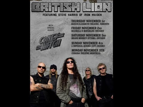IRON MAIDEN bassit Steve Harris' solo band BRITISH LION to tour in Canada..!