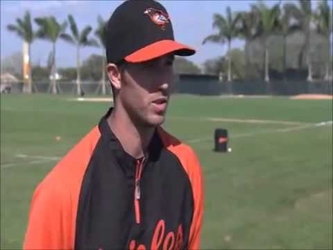 J.J. Franklin Batting Gloves Interview