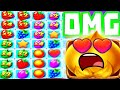 FRUIT PARTY 🍓 ALL IN BONUS BUYS BIG MULTIPLIERS 😱 AND A EPIC RETRIGGER‼️
