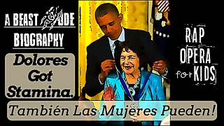 Dolores Huerta for Kids Biography Song with Context Clues Worksheets
