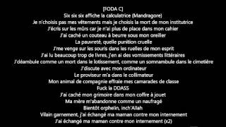 Sully, Foda C (Columbine) - Mandragore (paroles)