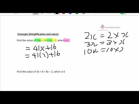 Primary 6 Math Algebra Singapore