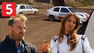 Saszeline og Uffe Holm straffet for dårlig kørsel | 5. Gear | Kanal 5