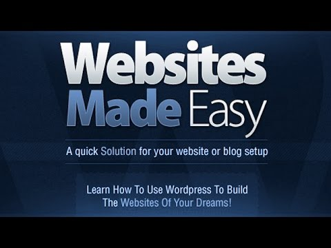 How To Create A Website For Free A WordPress Tutorial  Training - set up web site