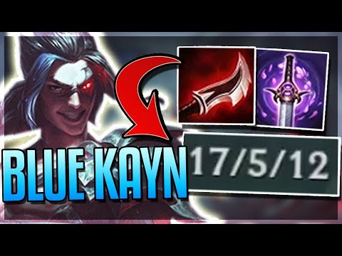 ASSASSIN KAYN IS MORE OP?! - Blue Form Kayn Gameplay (Shadow Assassin Form) - League of Legends