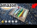 I Bought The WORST RATED Amazon Fishing Lures