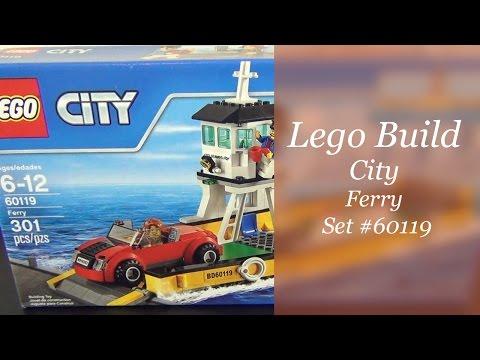 Let's Build - LEGO City Ferry Set #60119
