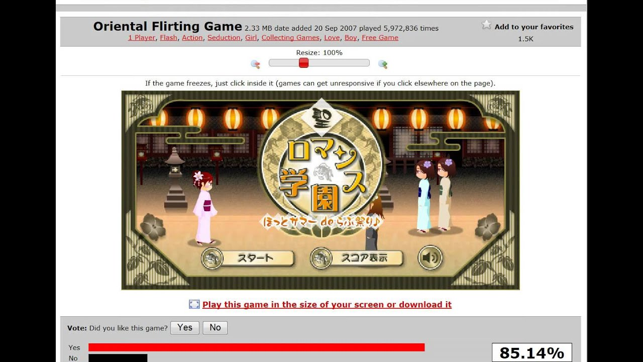 flirting games unblocked play free full episodes