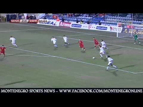Montenegro vs San Marino (Europe World Cup Qualification ..14/11/2012)