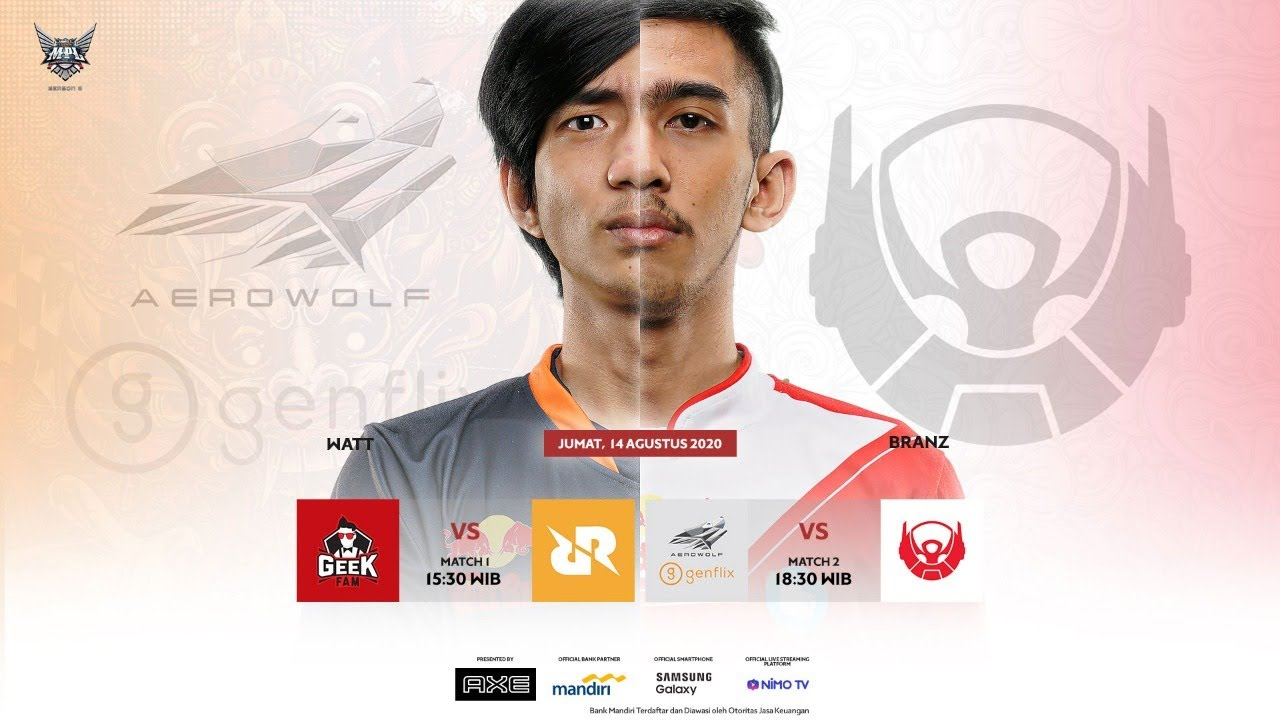 GEEK vs RRQ - AERO vs BTR [MPL ID S6 - Bahasa Indonesia Live]