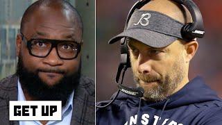 'Take the blame, coach!' – Marcus Spears rips Bears head coach Matt Nagy | Get Up