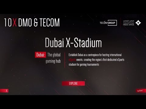 Dubai X Stadium, a joint initiative by GDMO and TECOM Group