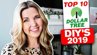 2019 My Top 10 Dollar Tree DIY Projects