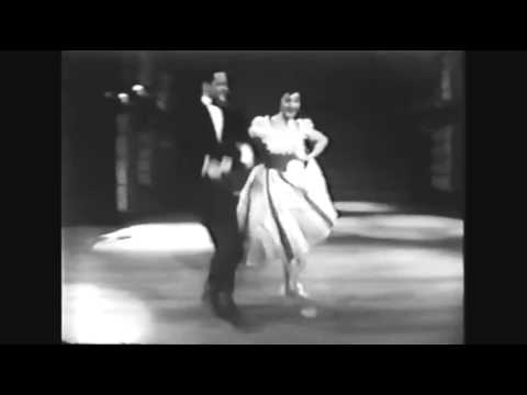 Tony Randall & Alexandra Danilova - Paree dance sequence (1959)