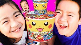 Pororo Noodle in Family Playground 不思議なカップヌードル ごっこ遊び 子供向け 幼児向け pretend play