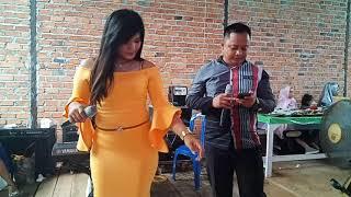 "Gambar cover Duet romantis sama Rena biduan cantik "" Kandas "" lagu dangdut galau, Universal Electone Balikpapan"