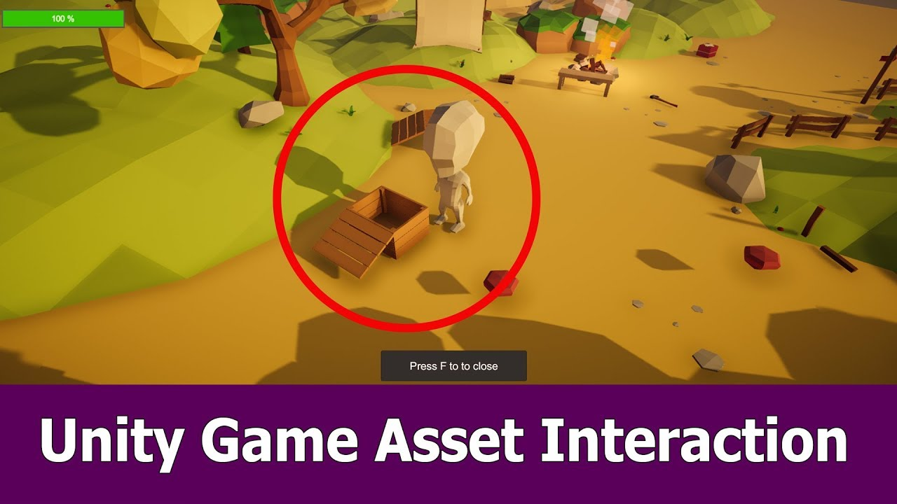 Unity Tutorial : Interact With Game Object