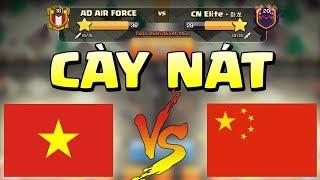 AD AIR FORCE Cày Nát TOP 1 Clan Trung Quốc Clash of clans   Akari Gaming