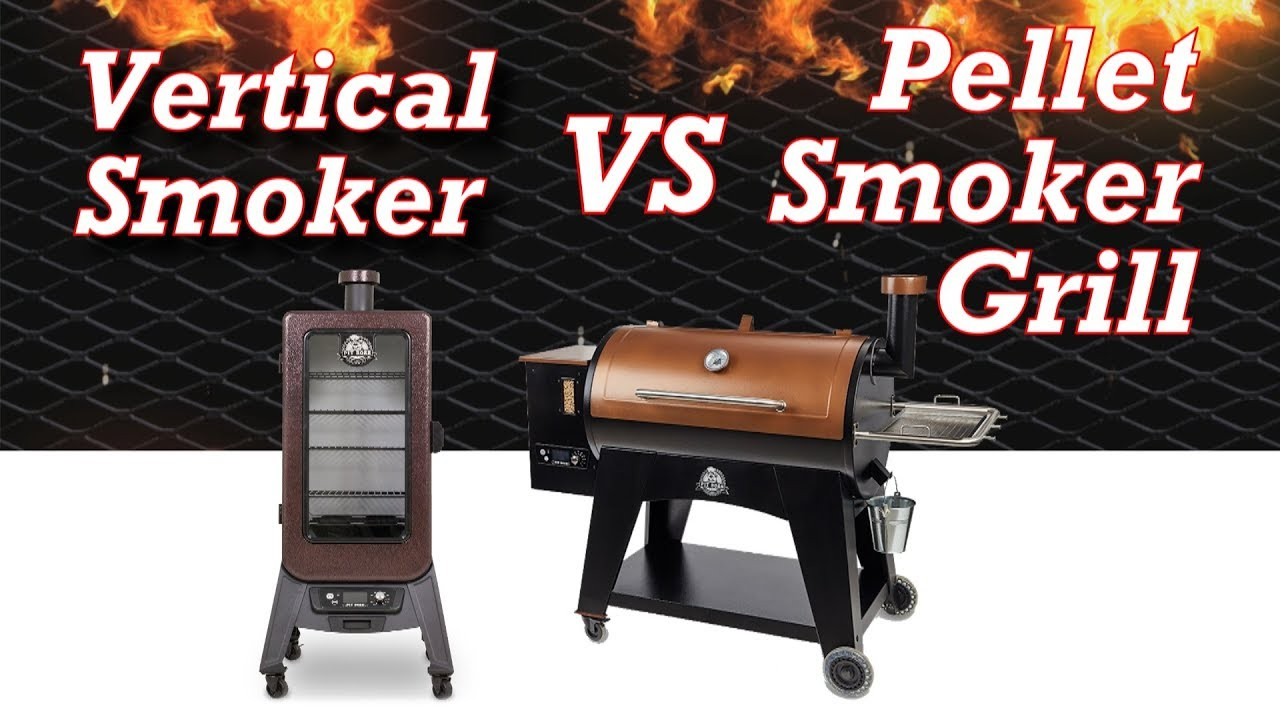 vertical smoker vs horizontal