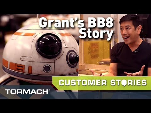 Mythbusters' Grant Imahara Is Making a Robot with His Tormach PCNC 770