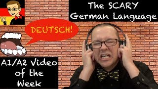The SCARY German Language - Learn German for Beginners A1/A2 #47 - Deutsch lernen