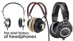 Who invented headphones?