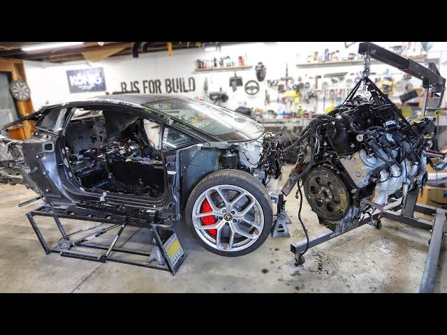 Junkyard LS Truck Engine Hunting & Teardown for the Lamborghini Huracan