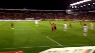 Gol de Mata España-Georgia Estadio Carlos Belmonte(Albacete 15-10-2013)