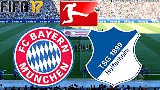 FIFA 17 - FC BAYERN MÜNCHEN vs. TSG 1899 HOFFENHEIM | 10.SPIELTAG ◄FCB #23►