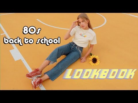 80s back to school lookbook