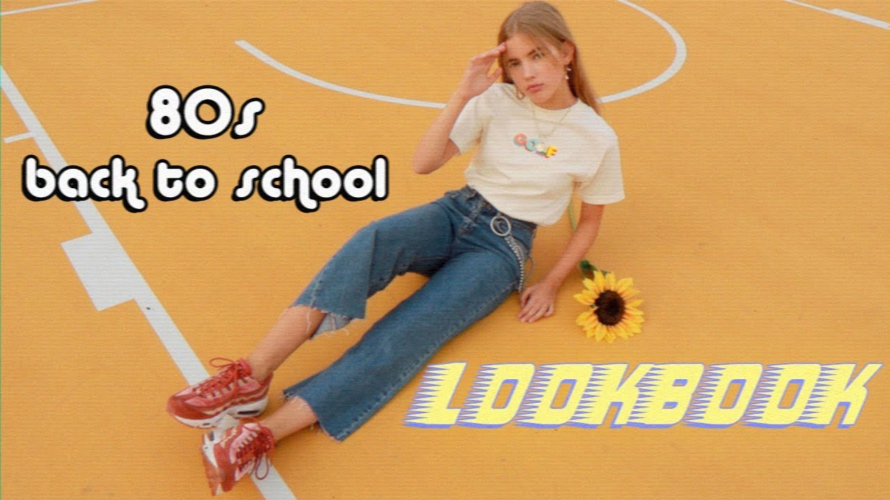 [VIDEO] - 80s back to school lookbook 2