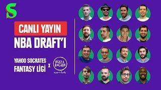 Fantasy NBA Socrates Ligi - Canlı Draft Yayını | Socrates X Pizza Locale