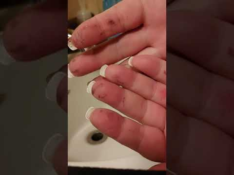 Tumbler epoxy ~ Removing epoxy from your hand