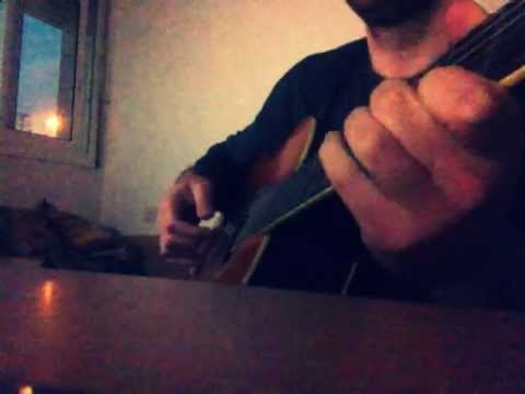 Coldplay - Trouble easy cover with a classic guitar +chords - YouTube
