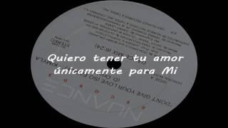 KIMYLA - Don't give your love (So easily) (Subtítulos en español)