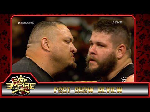 Samoa Joe's NXT TakeOver (Unstoppable review), Kevin Owens vs John Cena